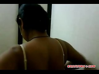 Indian big natural tits of hot aunty