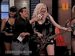Sabrina sabrok hot rockstar with biggest breast in the world