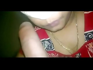 Desi village Bhabhi sucking devar dick and swallow cum