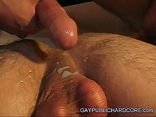Raw gay massage