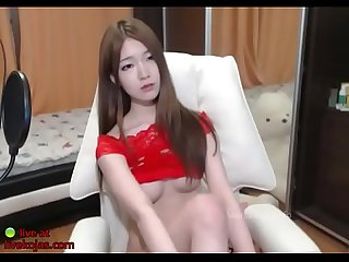Korean sensual teen masturbation