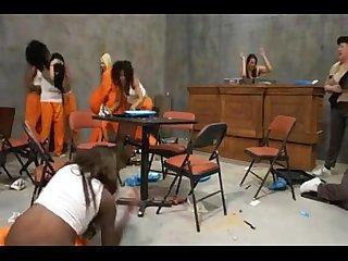Bella Moretti & Porsha Carrera Lesbians In Prison