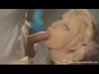 The fantasy of a german Maiden blowjob