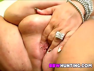 Huge plumper fucked hard time