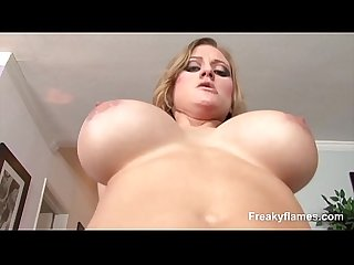 Great Girl amateur likes get giant cock in mouth till sperm