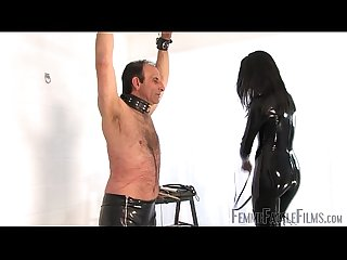 Willing To Please part3 - The Hunteress - FemmeFataleFilms - Brutal Whipping
