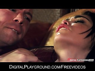 Flexible natural-tit Latina Selena Rose is fucked hard by her man