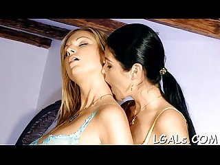 Nasty beauties in sex scene