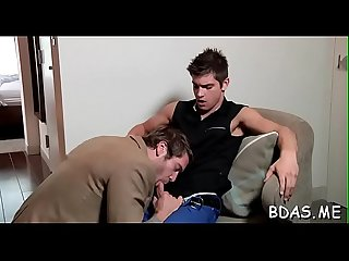Homosexual anal on the daybed