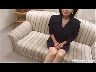 Horny asian mature with young boy