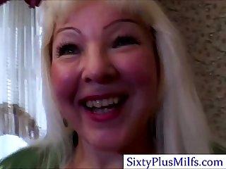 Hardcore granny fucking hard stud