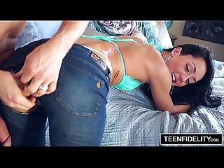 Teenfidelity sabrina banks rollerskater creampie