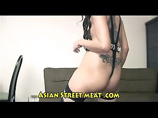 Botty bum fucked tattoo asian lizard