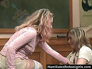 Teacher seducing student