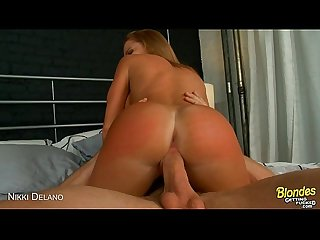 Busty blonde nikki delano gets fucked and facialized