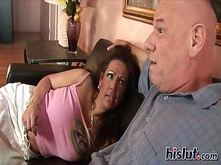 Angelica rides this cock
