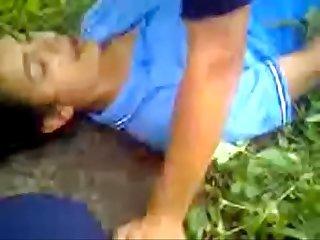 Morra cogelona al aire libre