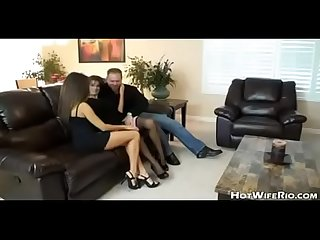 Hotwiferio wife and friend do husband