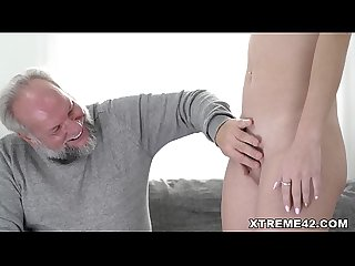 Sasha Sparrow loves sugardaddy's cock