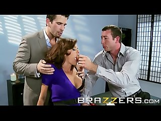 Dirty mother in law veronica avluv gets shared by two cock brazzers