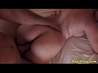 Anal first timer girlfriend riding cock
