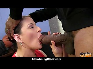 Huge black cock destroys amateur housewife 27