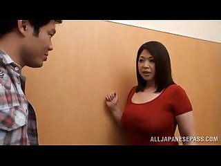 Asian slut gets a full treatmant natsuko kayama