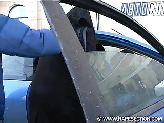 Hitchhiker Forced to sex with 2 guys russian