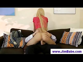 Older guy younger teen blonde girl