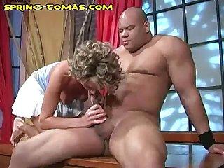 Icing a big black cock