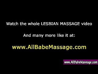 Lesbian masseuse oral seduction