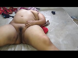 I masturbated my girlfriend, a Mexican chubby who also masturbates in the video, and..