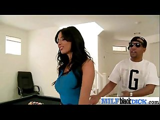 Hard Sex on cam between big Black mamba dick and Horny Milf anissa kate Movie 24