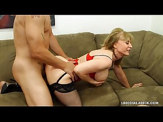 800DAD PAWG Nina Hartley Gets Gigolo Dick Gift from Hubby