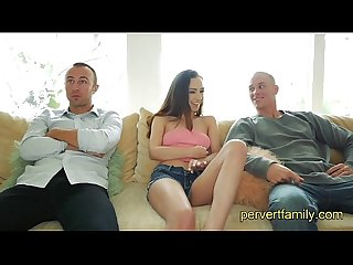 Pervertfamily Step-brother and best friend fuck step-sister