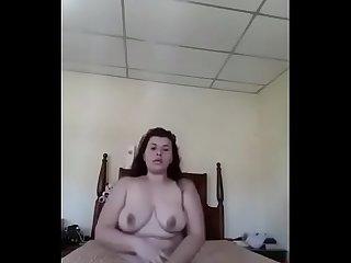 Sexy culona masturbación