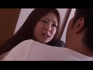 Japanese beautiful wife blakmailed by husband brother LINKFULL:..