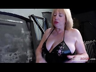 FrenzyBDSM Three Matures Mild Bondage and Sex Toys