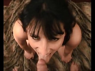 Brunette milf anal on real homemade
