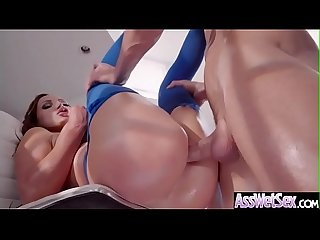 (Nikki Benz) Big Butt Girl Love Deep Anal Sex vid-25