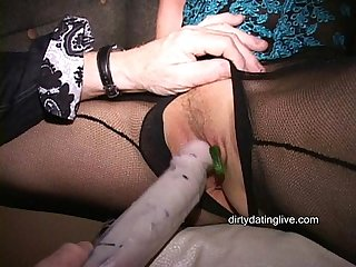 Masks make MILF Martha and her friends into cum crazy cougars