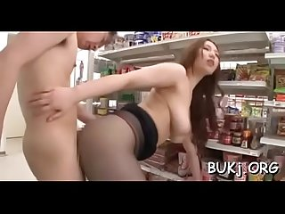 Jizz on love love bubbles for japanese doll