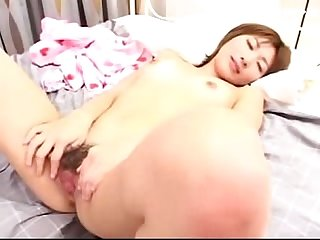 Asian Girl sucking cock in 69 getting fucked