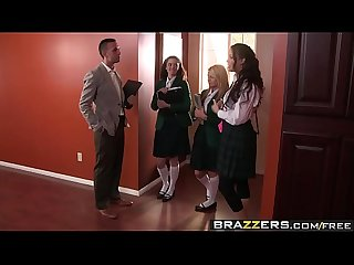 Brazzers big tits at school drilled by the dean scene starring sophia santi and keiran lee