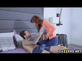 Milf syren is a stepmom who was banged by her three stepsons
