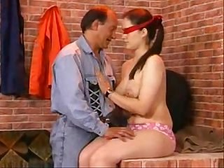 German dad and daughter family sex