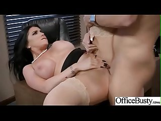 romi rain horny girl with big tits get sex in office clip 25