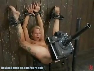 Extremely intense forced orgasm