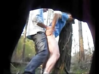Truckers fucking in the woods caught on hidden cam hornycamguys com