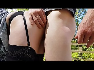 outdoor fuck and squirt